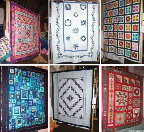 A selection of the quilts on display and for sale at the 2008 Skye Quilters Exhibition. Hope you can make the 2010 Skye Quilters Exhibition and Show.
