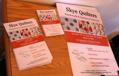 Skye Quilters 2010 Exhibition Posters
